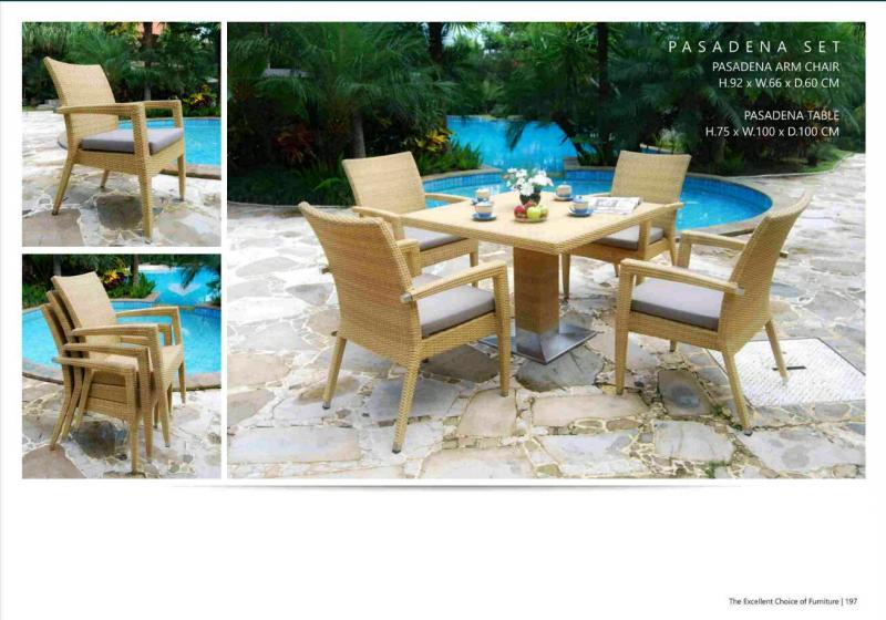Pasadena Set - Outdoor Furniture » Pasadena Set • Outdoor Furniture Garden & Patio